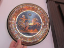 Decoratiune vintage Plate Egiptul Antic-Tutankhamon-un cadou