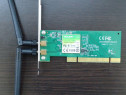 Placa de retea wireless TP-LINK TL-WN851ND, PCI