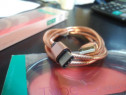 Cablu USB - Type C, metal, 1.8A, 1 m, negru
