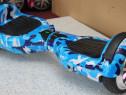 HoverBoard Blue Camuflaj Wheel 1000w Husa cadou