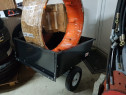 Remorca  dupa motocultor. Greutatea de transport 250 kg