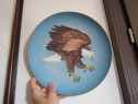 Plate colectie-Rosenthal 1976-American Bald Eagle-cadou ined