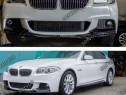 Prelungire splitter bara fata BMW Seria 5 F10 F11 10-17 v4