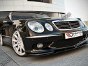 Prelungire splitter bara fata Mercedes E Class W211 AMG v2