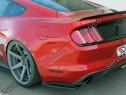 Prelungire splitter bara spate Ford Mustang MK6 15-18 v2