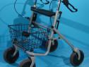 Cadru de mers, rolator cu roti, sezut si cos Trendmobil