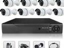 Sistem Supraveghere Video 8 Camere AHD HDMI DVR Kit Internet