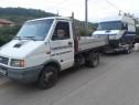 Transport stupi camioneta + remorca