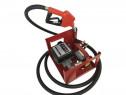 Pompa electrica transfer combustibil cu contor 12V sau 24 V