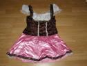 Costum carnaval serbare rochie tirolez bavareza adulti S-M