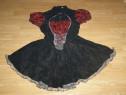 Costum carnaval serbare rochie medievala gotica adulti M-L
