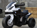 Motocicleta electrica pentru copil 1-3 ani, BMW S1000RR #NEW