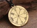 Pandantiv amuleta sigiliul lui Solomon al lui jupiter