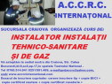 Curs instalator instalații tehnico sanitare