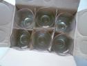 Set pahar pahare Martini Vintage Predinner Glass !