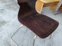 Set 6 scaune lemn metal