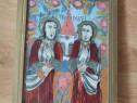 Icoana pe sticla Petru si Pavel