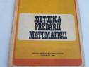 Metodica predarii matematicii/ileana rus,doina varna/1983