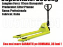 Transpalet Profesional Pramac Furci 2.5Tone Garant 36luni