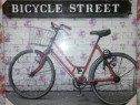 "Tablou decorativ ""Bicycle Street"""