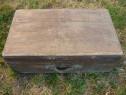 Ladă lemn masiv, valiză, cutie, cufăr vintage