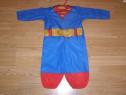 Costum carnaval serbare superman pentru copii de 9-12 luni