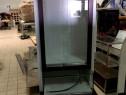 Mobilier expunere produse alb/maroniu 200 x 70 cm
