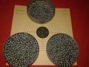 1500 bile otel pt. pistoale pusti tir aer comprimat 4.5 mm