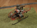 Macheta elicopter model rar metal F-WGVD 1953 French Vintage