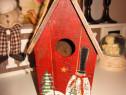 Casuta pasarelelor - din lemn,made germany-un cadou