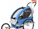 Remorcă bicicletă & cărucior copii 2-în-1, 91376