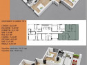 *Apartament 3 camere tip Penthouse - zona universitate