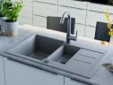 Chiuvetă de bucătărie din granit, 142951