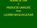 Norme de timp și producție unificate lucrări silvicultură
