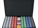 Set de poker cu 1000 de jetoane din 80183