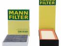Pachet Revizie Filtru Aer + Polen Mann Filter Bmw Seria 3