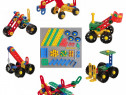 Set constructie autovehicule Toto Toys Connetrix