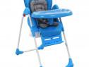 Scaun de masă înalt pentru copii, albastru 10187
