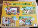 Puzzle 4in1 cu Bibi Si Tina 2*60 si 2*100 piese