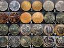 Lot 96 monede diverse tari