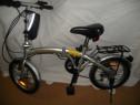 Bicicleta pliabila FOLDING BICYCLE, echipata schimano
