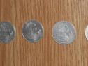 Lot 5 monede 25 bani 1982