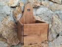 Cutie sare din lemn