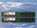 Kit memorie RAM Kingston KVR - 2GB (2x1gb) 1.8v 800MHz
