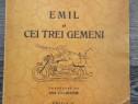 Carte veche carte pentru copii emil si cei trei gemeni