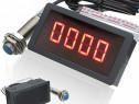 Indicator turatie combine, tractoare 0-9999rot/min Nou!