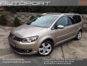 VW Touran 2.0 TDI Carat 7 loc. piele navi .