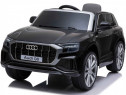 Masinuta electrica pentru copii Audi Q8 STANDARD 12V #Black