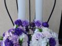 Set lumanari si buchete de flori de sapun pe comanda