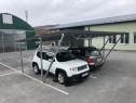 Copertină auto modulară pentru 2 mașini (5x5m, policarbonat)